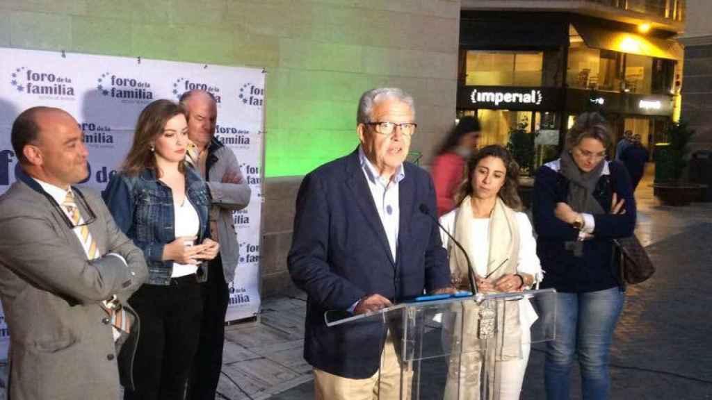 Gonzalo Sánchez, presidente de la Federación de Familias Numerosas de Murcia.