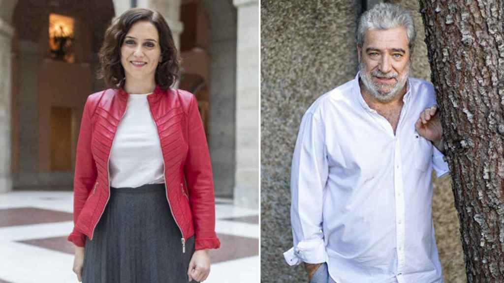 Isabel Díaz Ayuso y Miguel Ángel Rodríguez