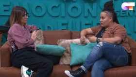 Noemí Galera junto a Eli (RTVE)