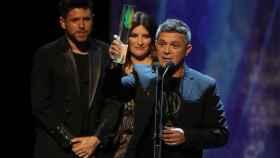 Alejandro Sanz en los Premios ODEÓN (RTVE)