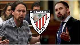 Pablo Iglesias, Santiago Abascal y el Athletic