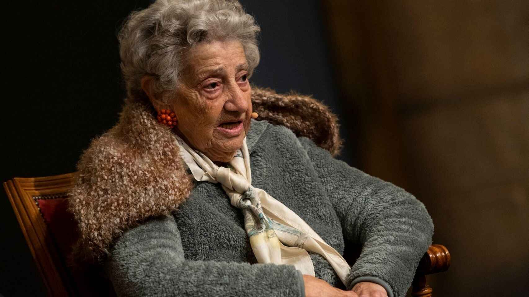 La superviviente de Auschwitz Annette Cabelli