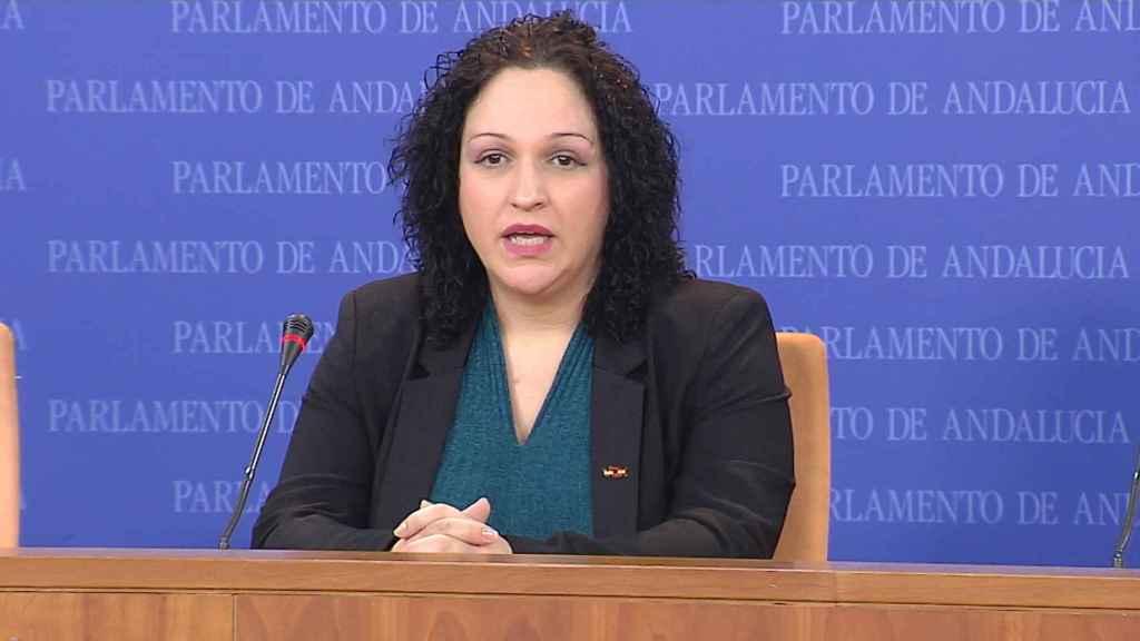Luz Belinda Rodríguez, diputada en el Parlamento de Andalucía.
