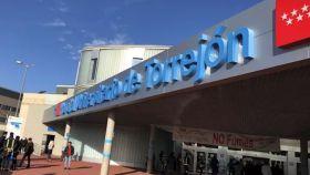 Imagen de recurso de la fachada principal del Hospital de Torrejón de Ardoz.