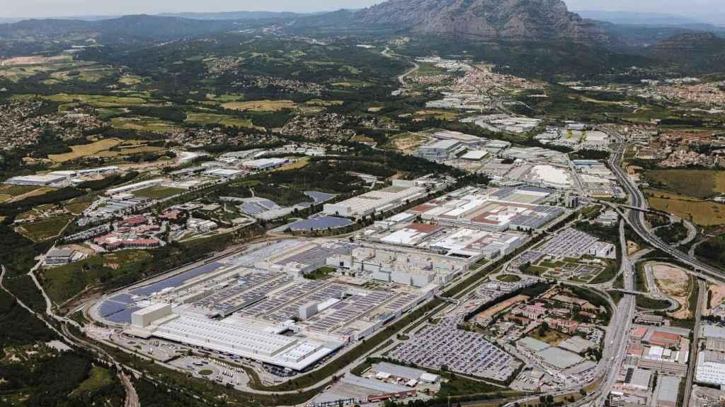 Imagen de la planta de Seat en Martorell.