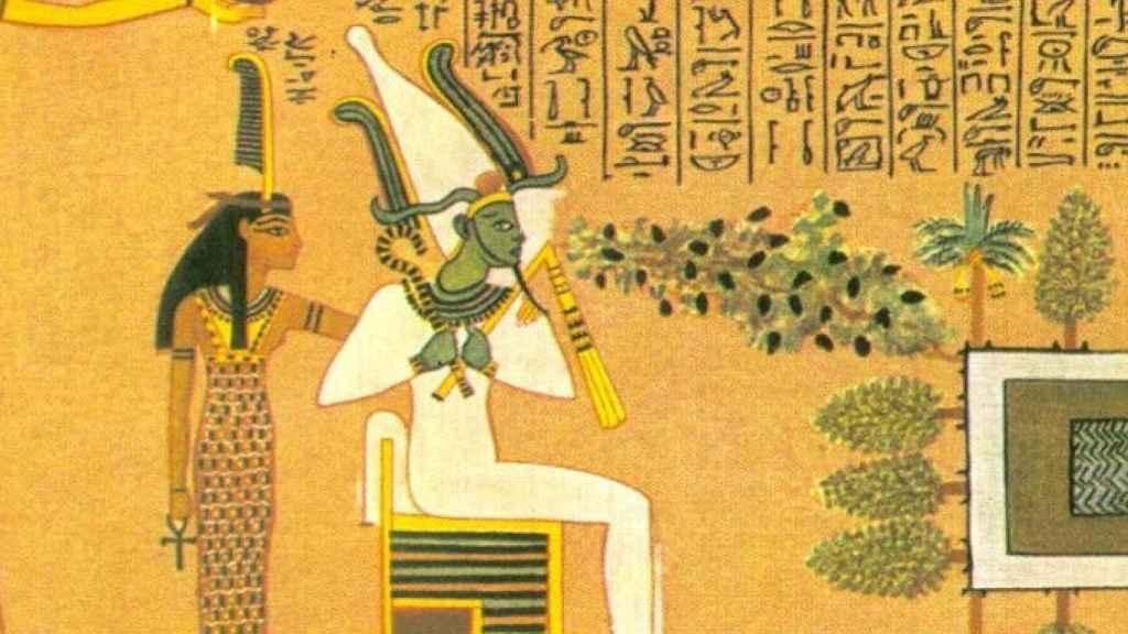 Isis y Osiris.