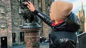 Dan Hammond en Edimburgo (Instagram)
