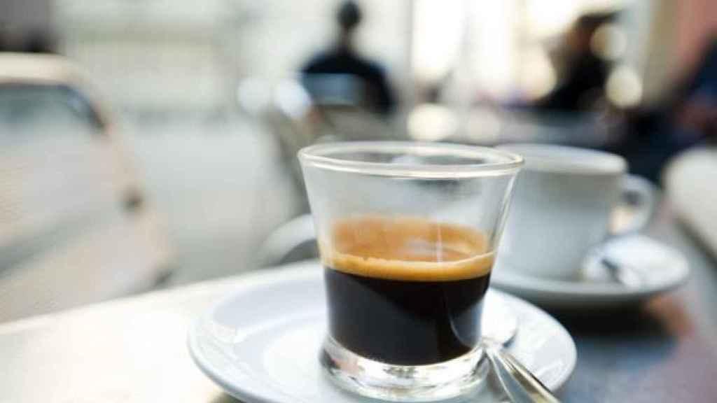 Café solo.