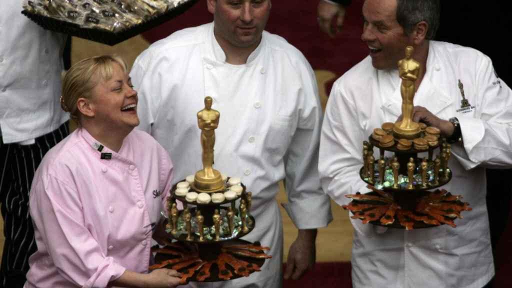 El chef Wolfang Puck lleva 25 años a cargo de la cena de los Óscar.
