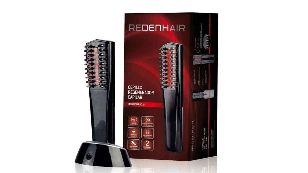 El cepillo regenerador utilizainfrarrojos y micro-vibracionespara estimular el crecimiento capilar.