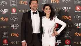 Javier Bardem y Penélope Cruz en los Premios Goya.