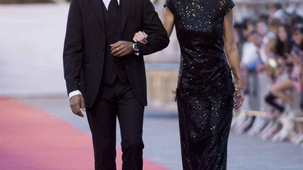 Paz Vega y su marido Olson en una imagen de archivo.