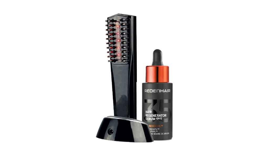 El cepillo regenerador frena la pérdida de cabello y estimula el crecimiento capilar.