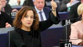 Iratxe García, líder de los socialistas el Parlamento Europeo.