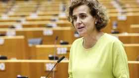 Dolors Montserrat, en el pleno de Bruselas del Parlamento Europeo.
