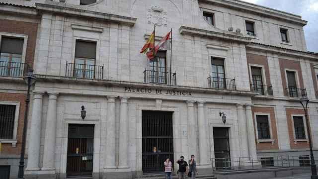 La Audiencia Provincial de Valladolid.