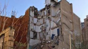 Hallan a una mujer muerta en el derrumbe de un edificio en Alcoy (Alicante)