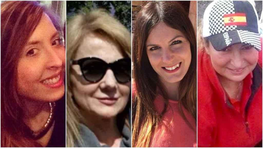 De izquierda a derecha; Mónica, Olga, Judith y Liliana.