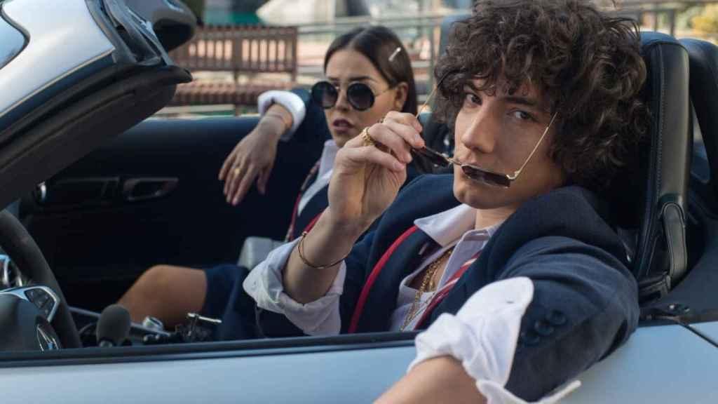 Danna Paola y Jorge López (Netflix)