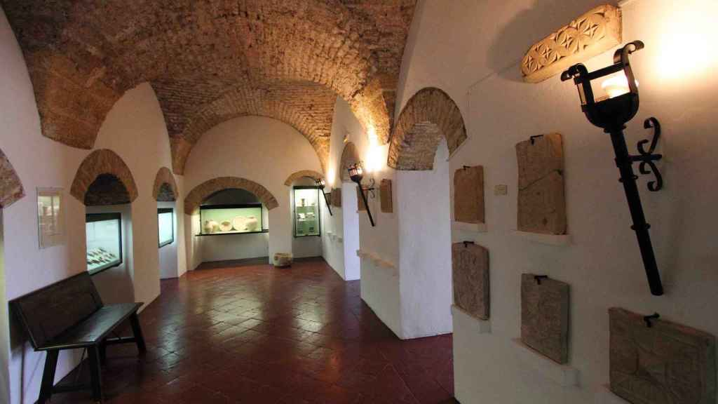 Interior del Museo Arqueológico de Osuna.