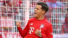 Philippe Coutinho, con el Bayern