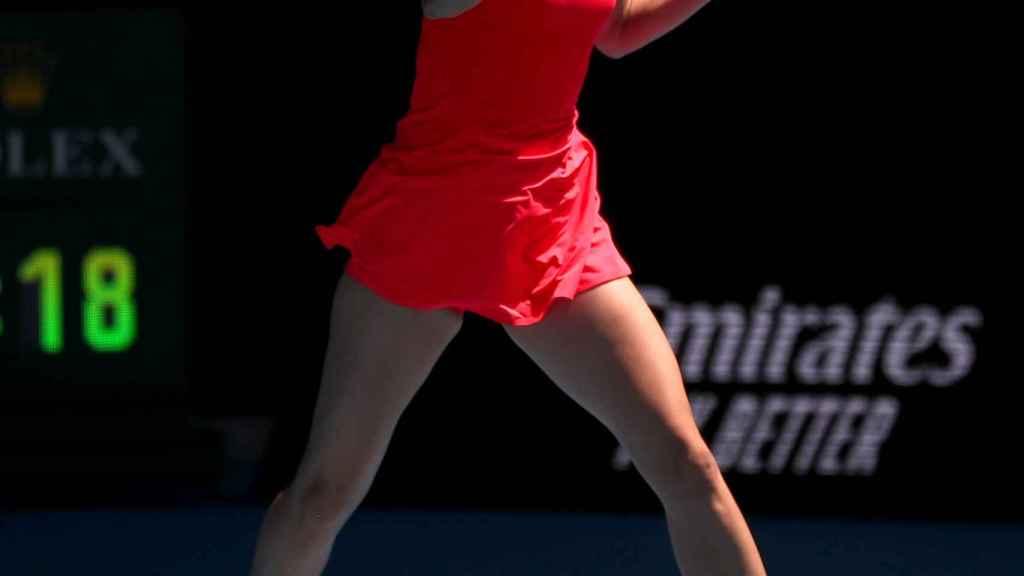 Maria Sharapova, en el Open de Australia 2020