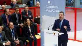 Emiliano García-Page, presidente de Castilla-La Mancha, este jueves en Madrid.