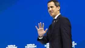 Juan Guaidó, en el foro de Davos, al que Venezuela llevaba 28 años sin acudir.