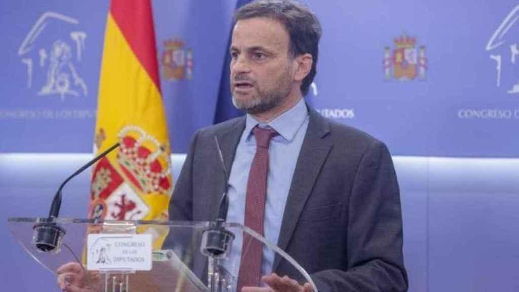El portavoz de En Comú Podem, Jaume Asens.