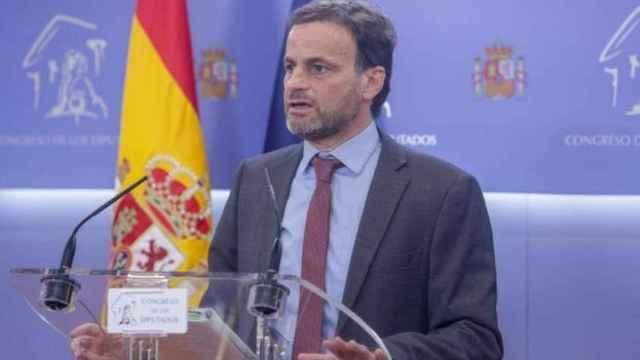 El presidente de Unidas Podemos en el Congreso, Jaume Asens.