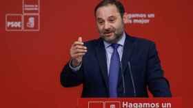 El ministro y secretario de Organización del PSOE José Luis Ábalos.