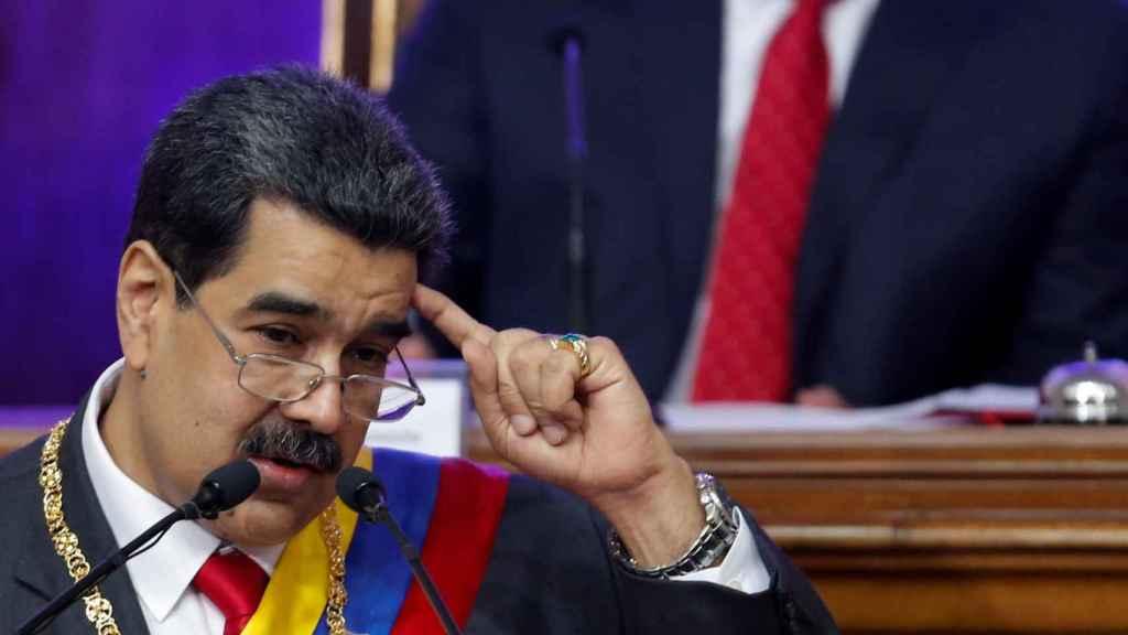 Nicolás Maduro, presidente ilegítimo de Venezuela.