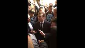 Encontronazo de Macron con la Policía israelí en una iglesia de Jerusalén: Fuera, conoces las reglas