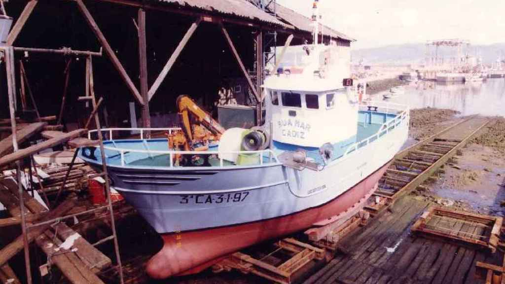 El barco pesquero gaditano Rua Mar, con sede en Barbate (Cádiz)