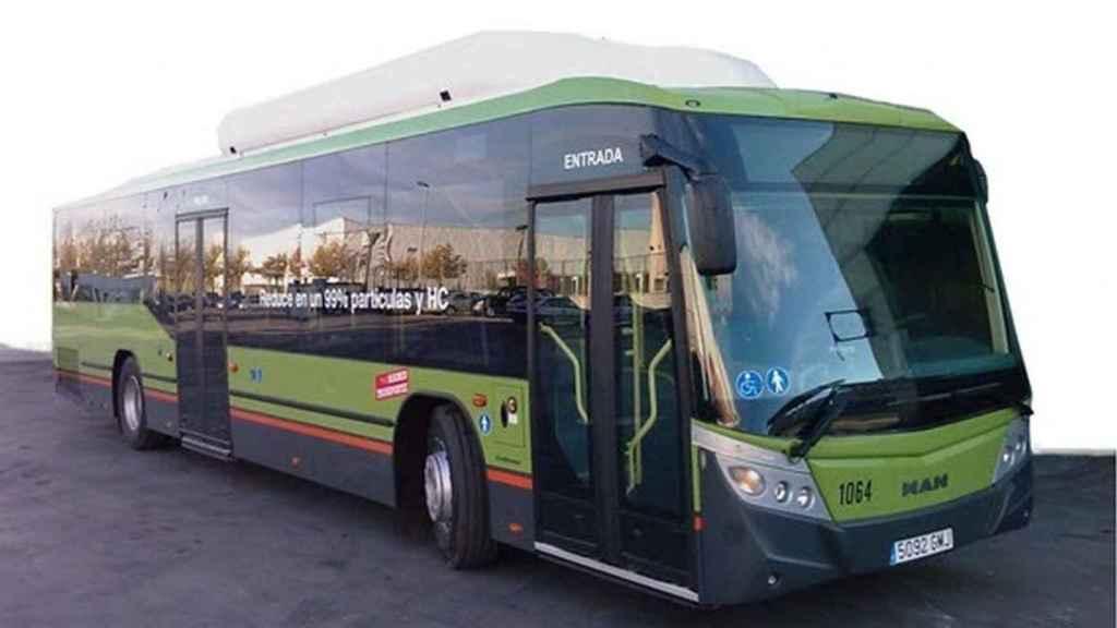 Autobús interurbano de la Comunidad de Madrid.