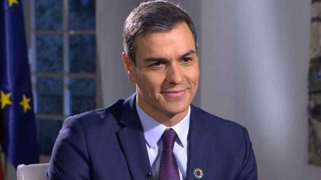 El presidente del gobierno, en el debate de RTVE.