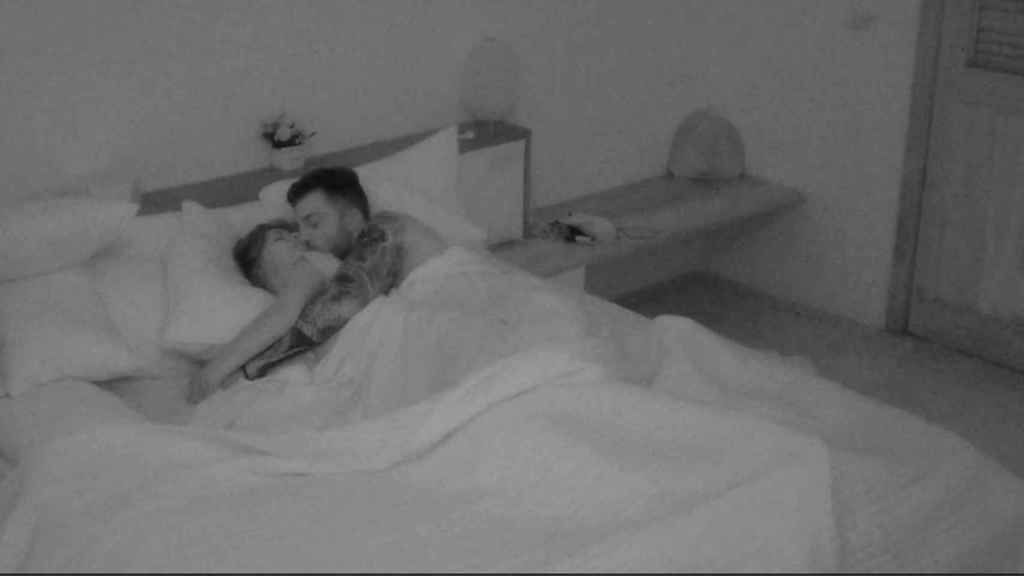 Fani y Rubén pasan la noche juntos en 'La isla de las tentaciones'.
