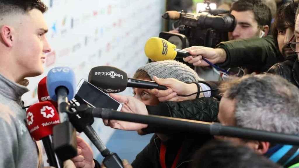 La espectación de los medios tras el encuentro ante el Atlético