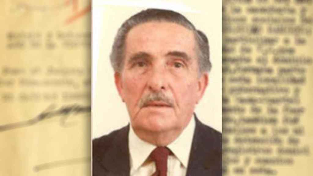 Retrato contemporáneo de Manuel Iglesias Ramírez.