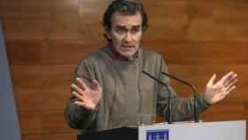 El director del Centro de Coordinación y Emergencias Sanitarias del Ministerio de Sanidad, Fernando Simón.