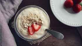 Un yogur elaborado de forma artesanal.