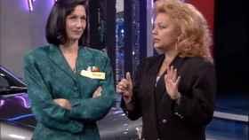 La presentadora llegó hasta el panel final en la primera entrega del histórico concurso.