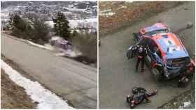El escalofriante accidente del campeón del mundo de WRC en Montecarlo