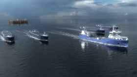 Konsgberg prueba su nueva tecnología en buques autónomos.