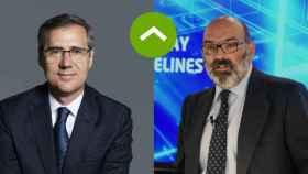 COMO LEONES: Ignacio Madridejos (Ferrovial) y Fernando Abril-Martorell (Indra)