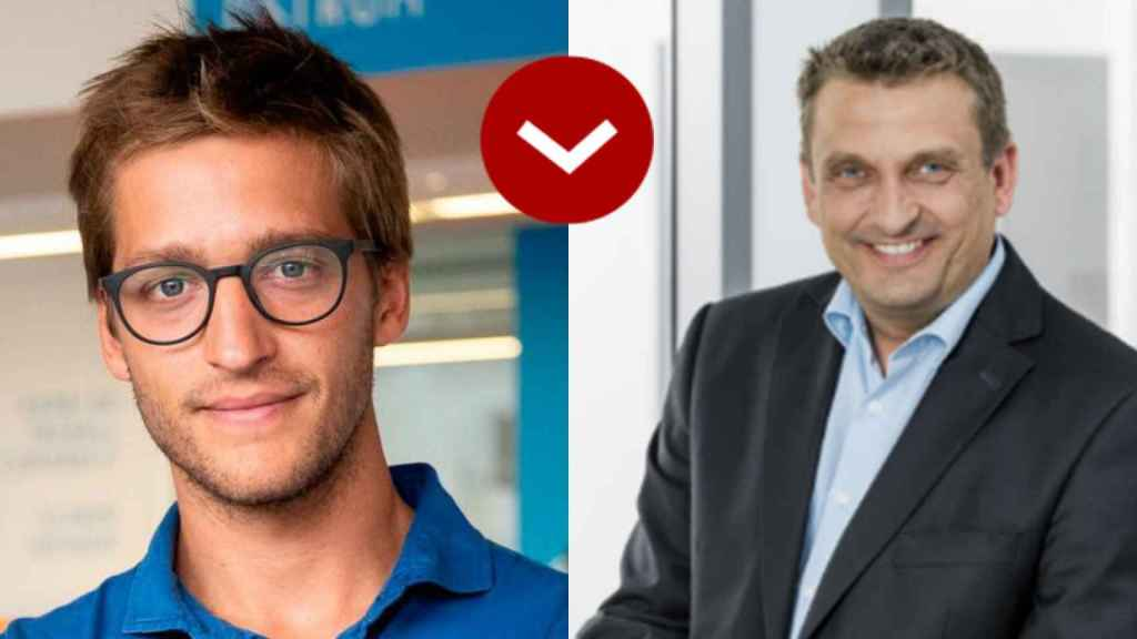A LOS LEONES: Óscar Pierre (Glovo) y Torsten Rauch (Continental Automotive)