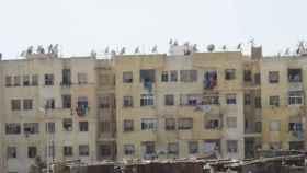 Un barrio de la periferia de Casablanca.