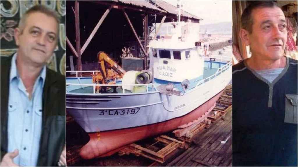 Ángel y Javier, los hermanos marineros del pesquero desaparecido a sólo 4 meses de jubilarse