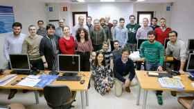 El equipo de MIR Asturias, en Oviedo.