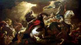 La conversión de San Pablo pintada por Luca Giordano.